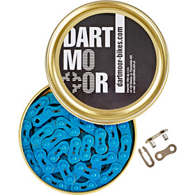 "DARTMOOR Core Bicycle Chain 3/32"", blue"